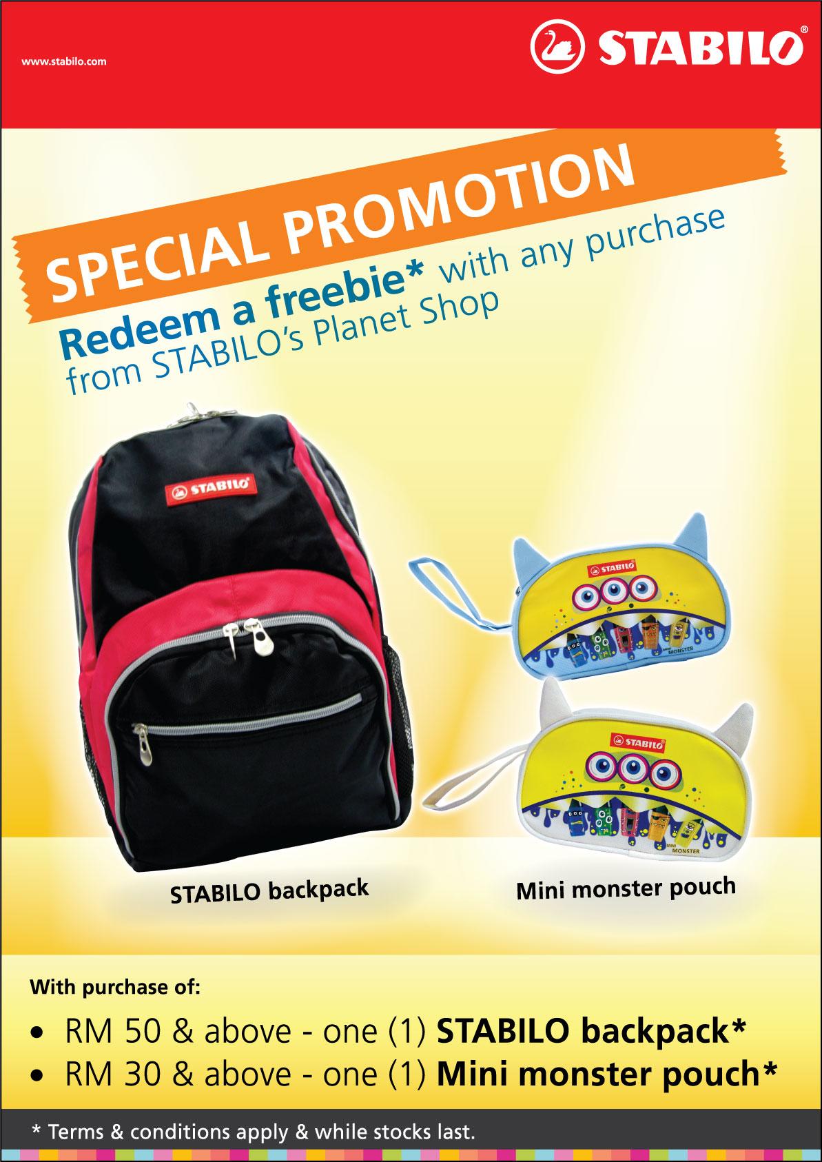 Stabilo Planet Shop Promotion | CzipLee Journal