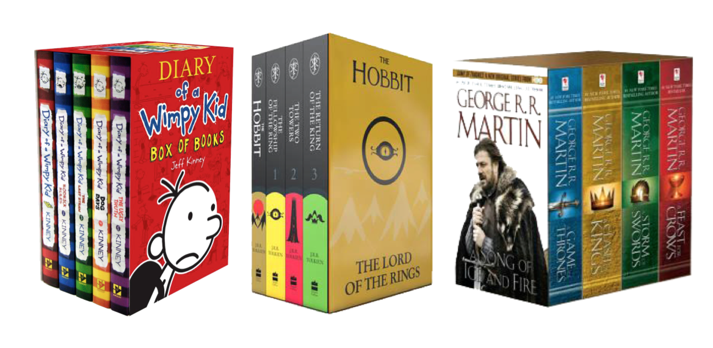 Books page 2 cziplee journal czipread diary of a wimpy kid the hobbit lotr and game of thrones boxed set of books solutioingenieria Images