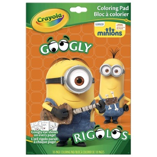 More Minions Love with Crayola