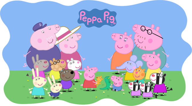 Peppa Pig Books Available In CzipLee