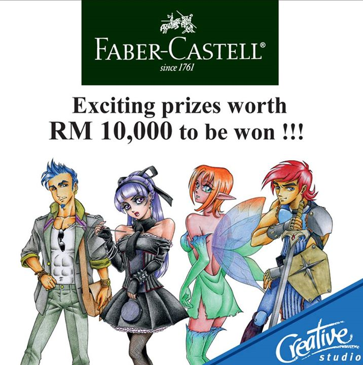 Faber Castell Malaysias Manga Drawing Contest August 1 2015
